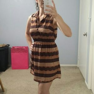 Be Bop hearts and stripes dress